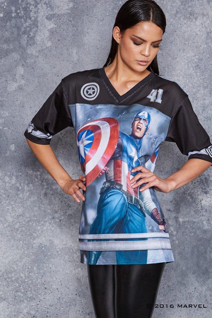 captain-america-touchdown-t-shirt-design-woman