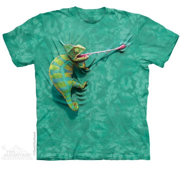 climbing-chamelion-t-shirt-design