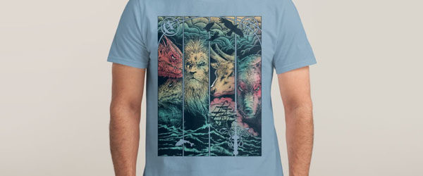 game-of-animals-t-shirt-design-by-branko-ricov-design
