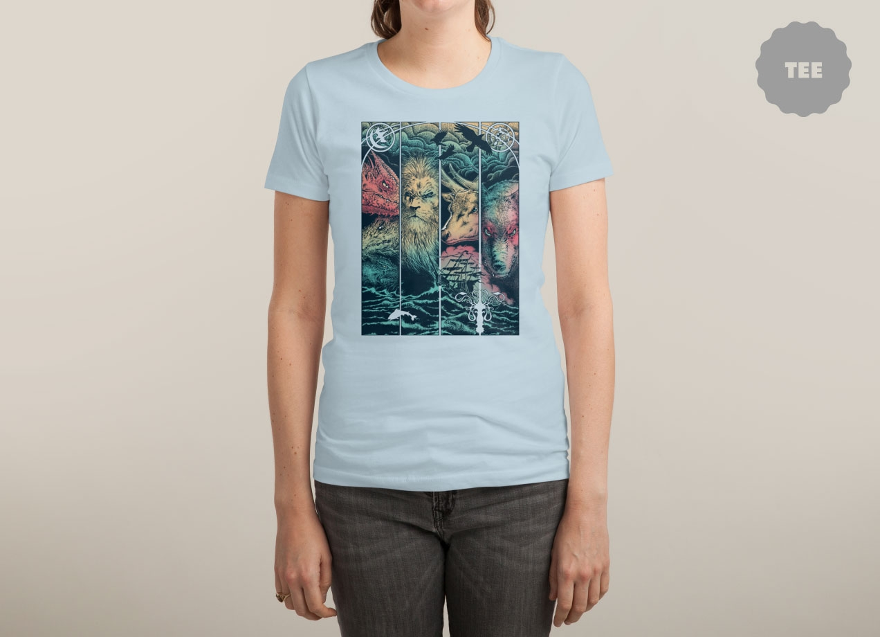 game-of-animals-t-shirt-design-by-branko-ricov-woman