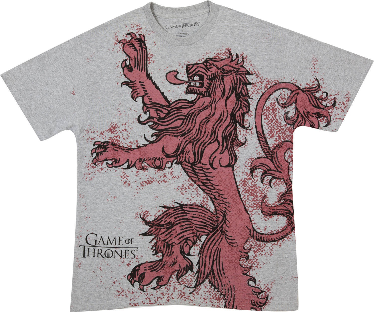 Design t shirt games - Lannister Game Of Thrones T Shirt Design Tee