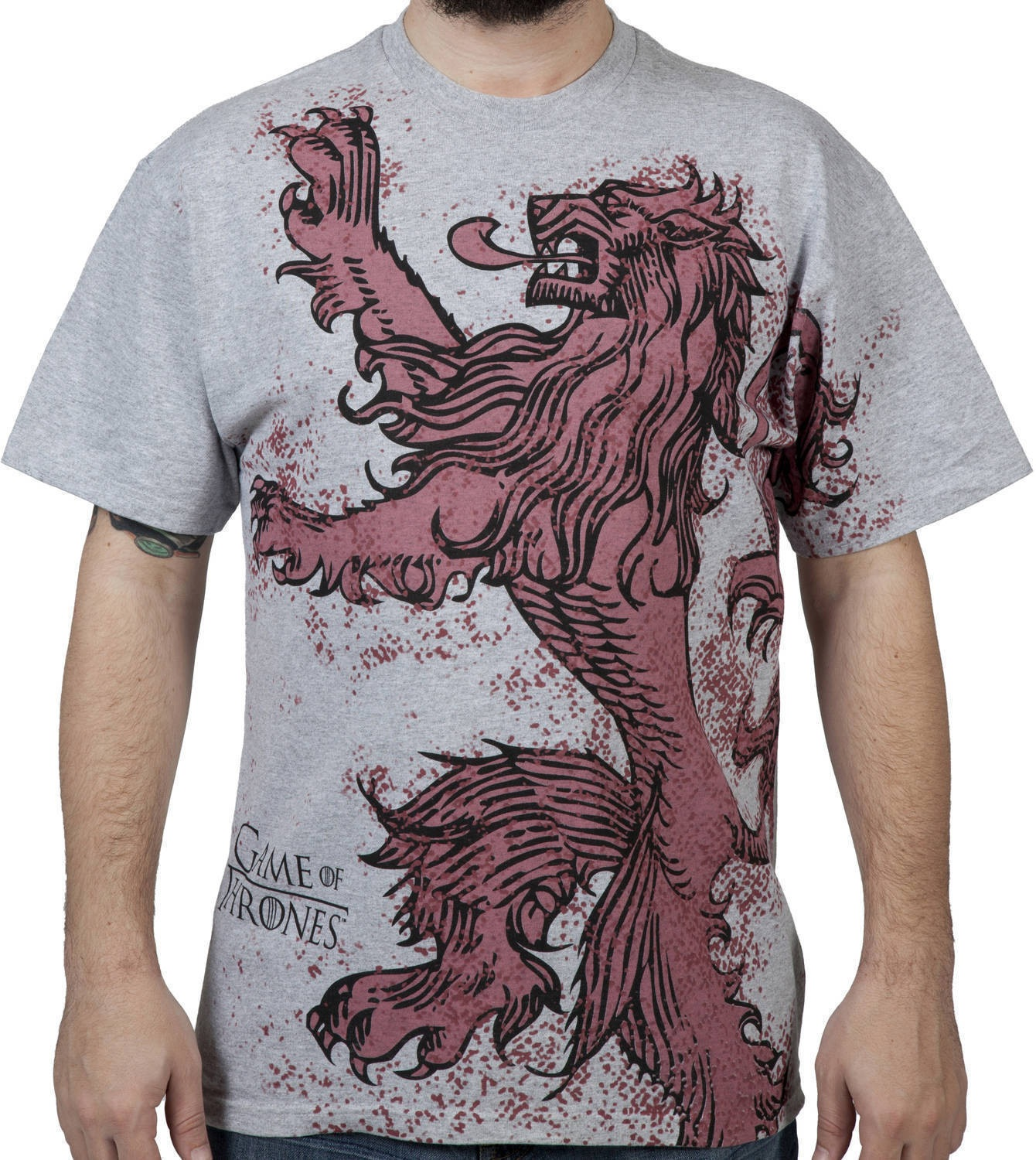 lannister game of thrones t shirt design fancy t shirts. Black Bedroom Furniture Sets. Home Design Ideas