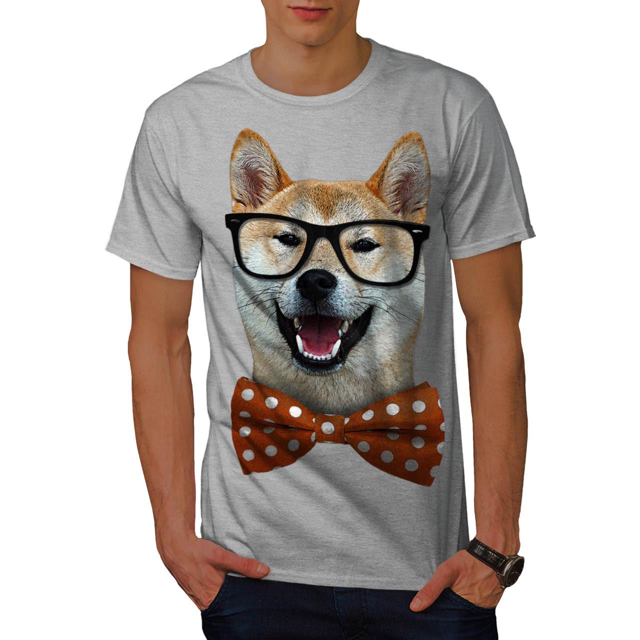 smart-shiba-inu-dog-t-shirt-design-front
