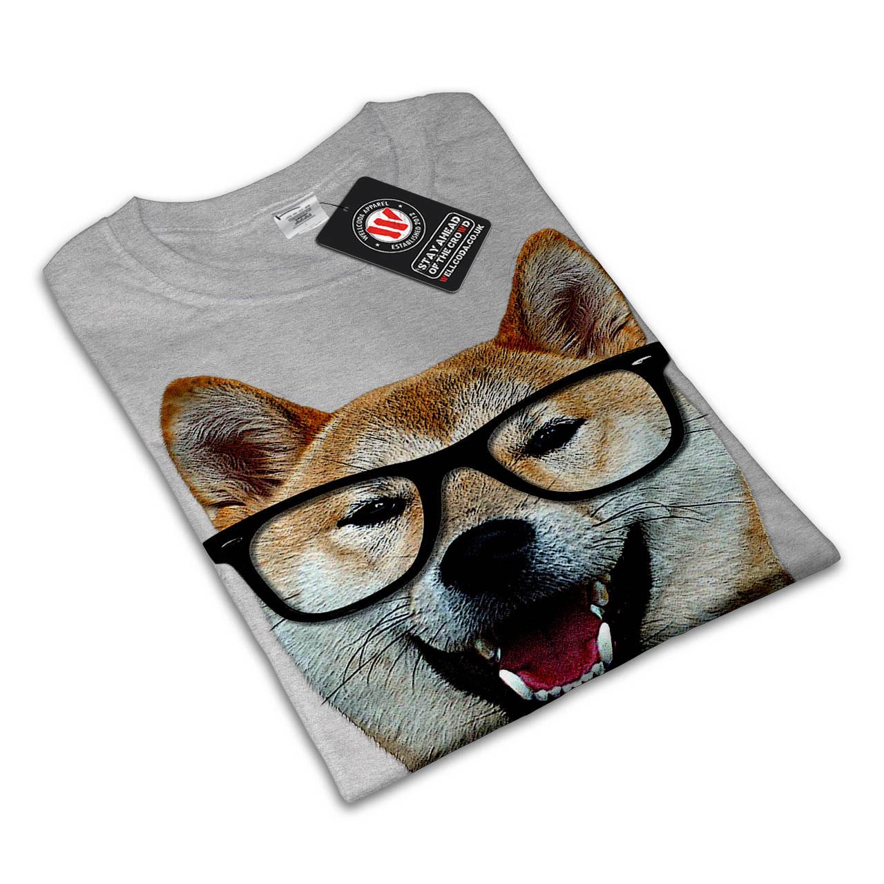 smart-shiba-inu-dog-t-shirt-design