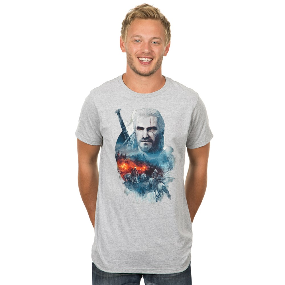 the-witcher-3-into-the-fire-t-shirt-design-man