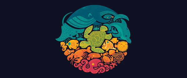 aquatic-rainbow-t-shirt-design-by-waynem-main