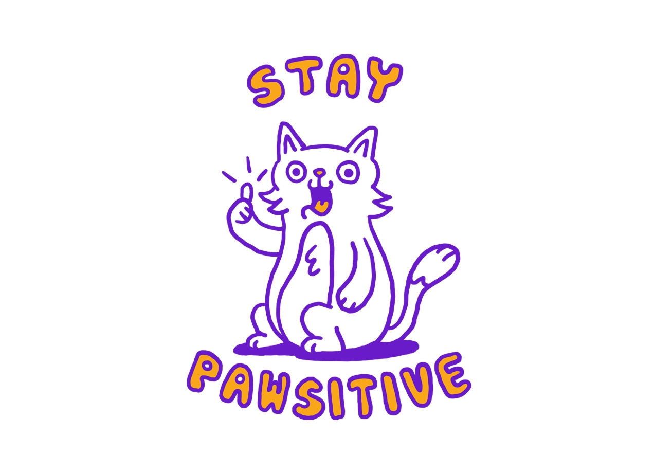 stay-pawsitive-t-shirt-design-by-rodrigo-leonardo-batista-ferreira