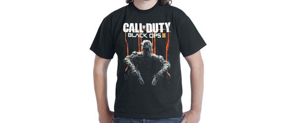 Black Ops III T-shirt Design main image