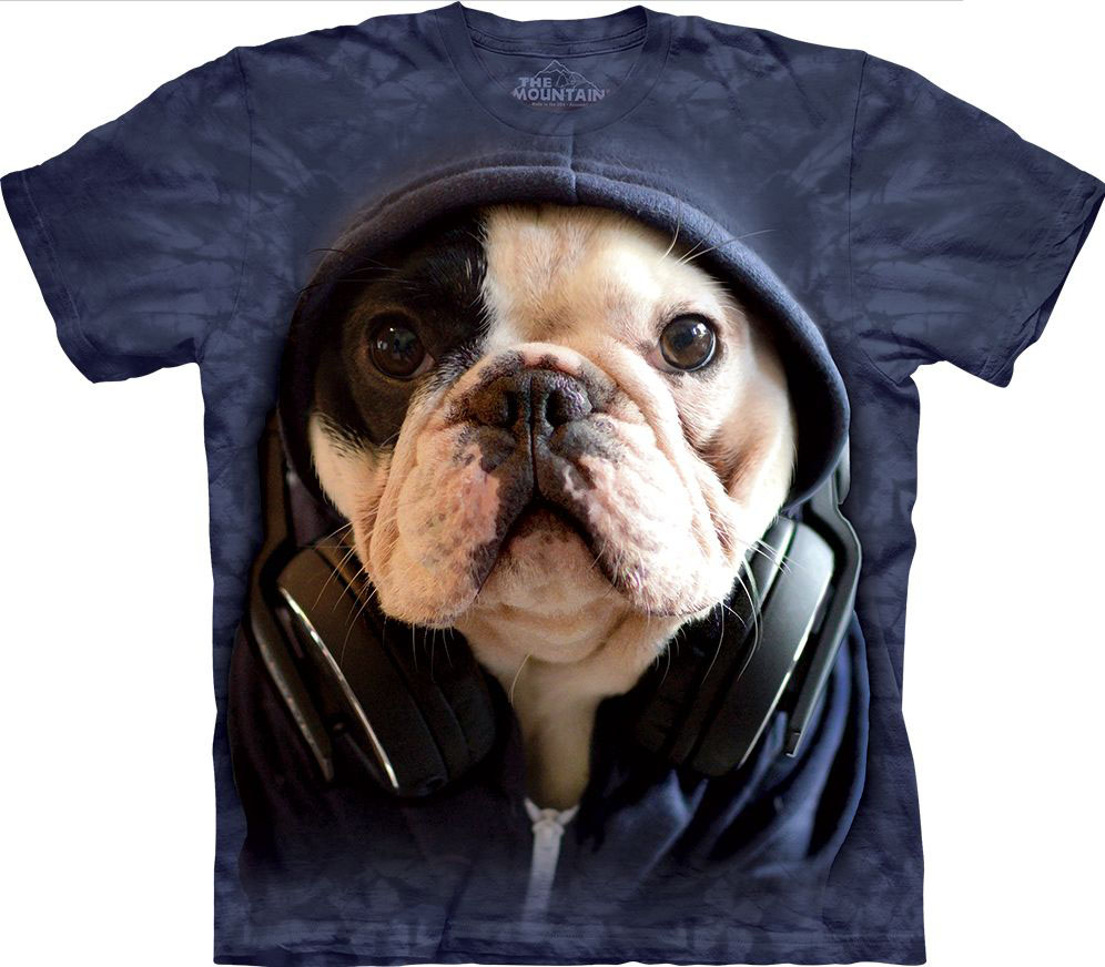 DJ Manny the Frenchie T-Shirt