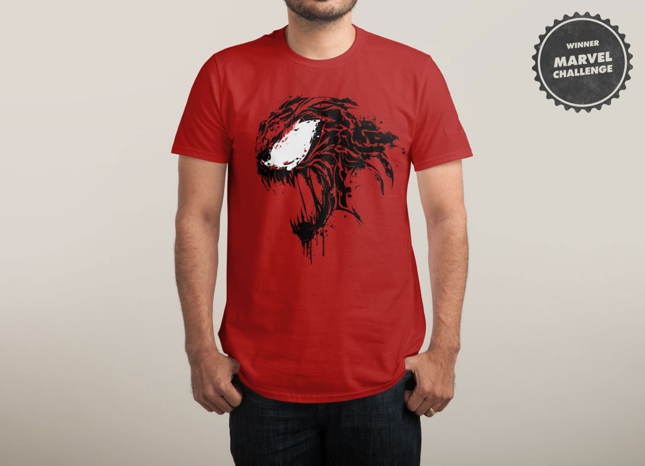 EXTREME CARNAGE T-shirt Design by Daniel Stevens man