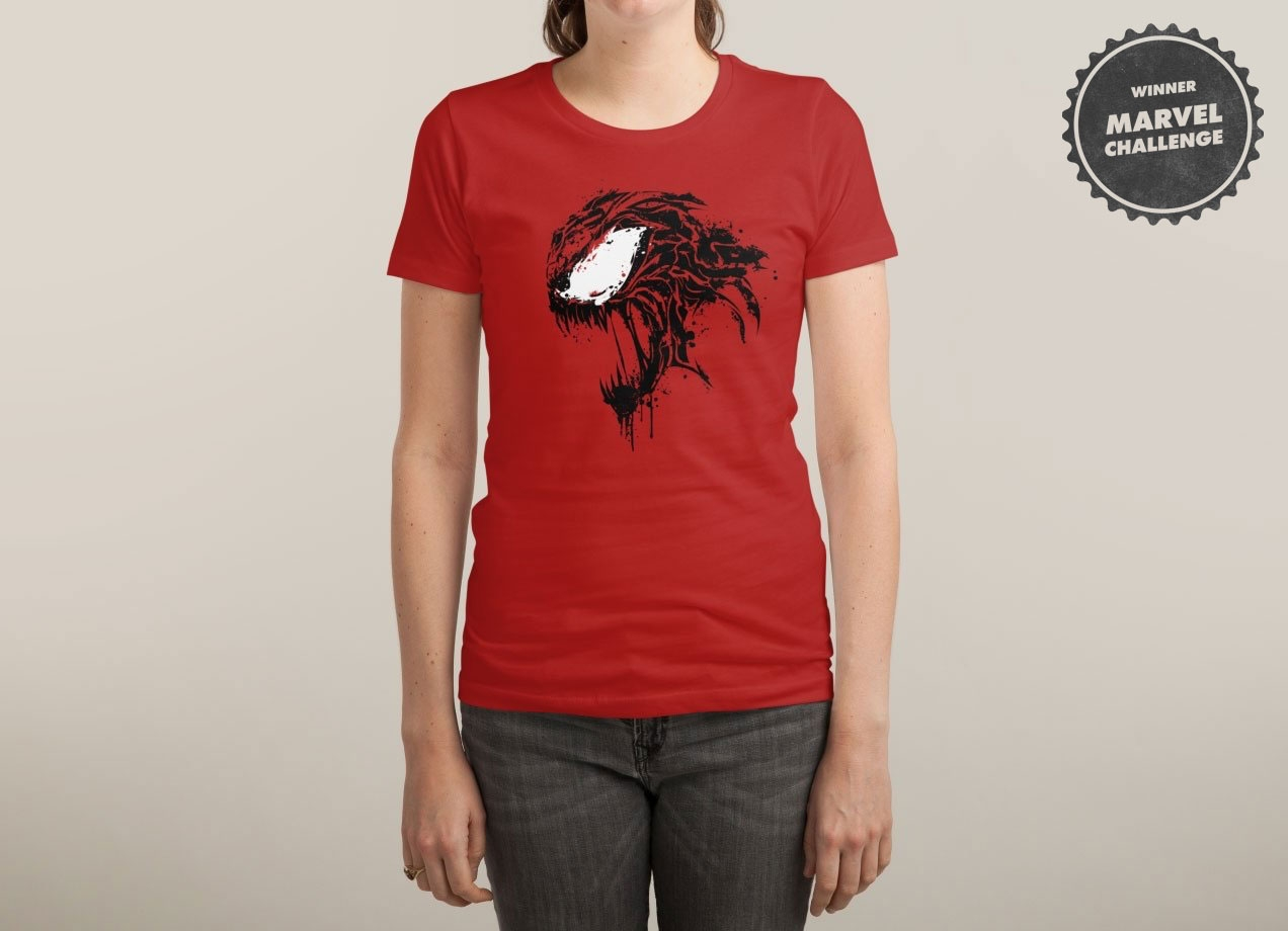 EXTREME CARNAGE T-shirt Design by Daniel Stevens woman
