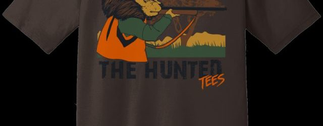 LADIES THE HUNTED LION T-shirt main