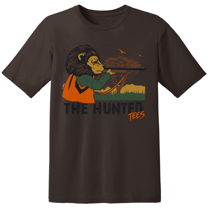 LADIES THE HUNTED LION T-shirt