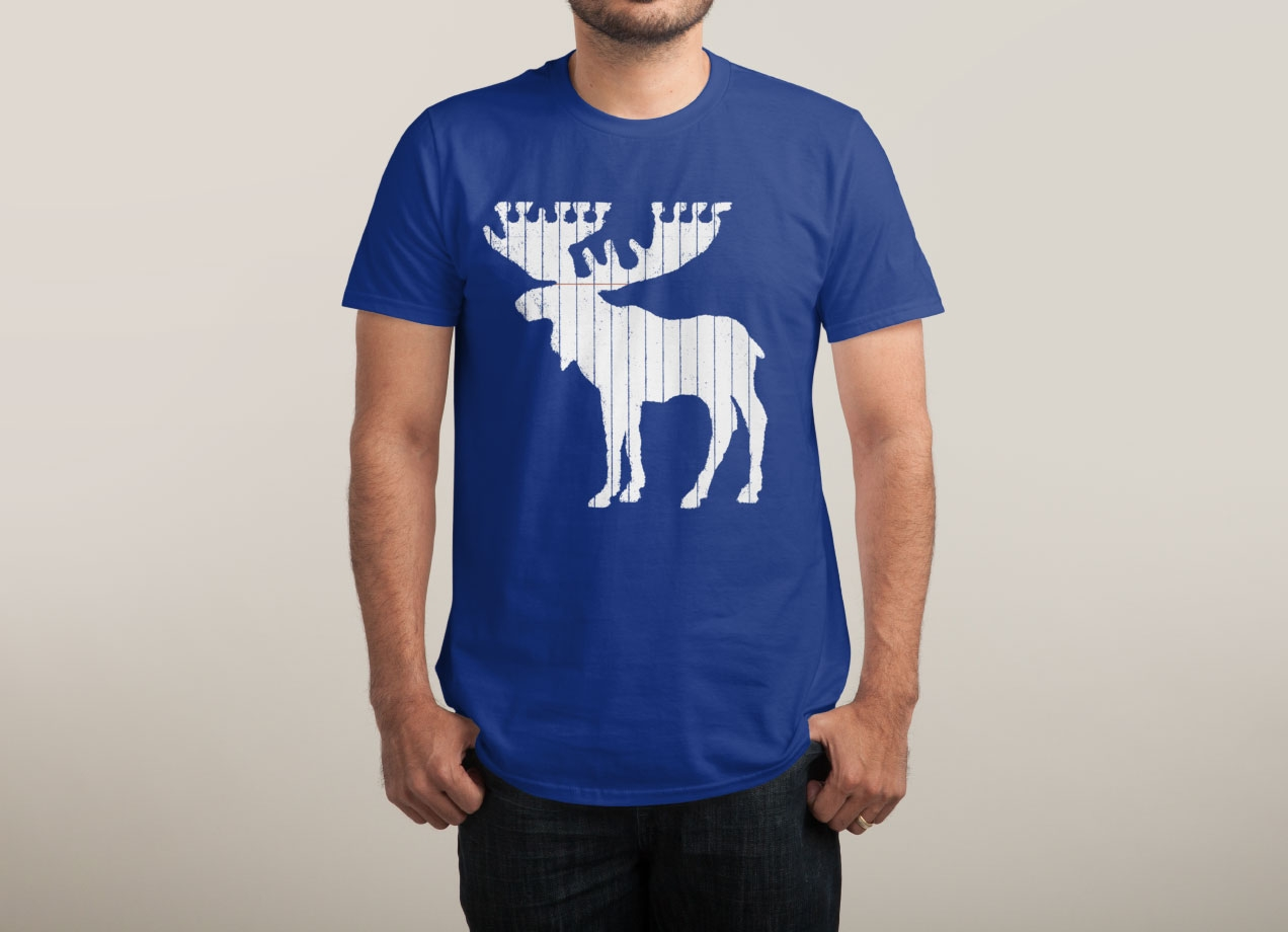 MOOSE LEAF T-shirt Design by Jason McDade man