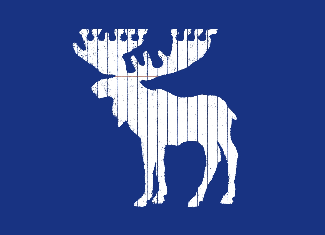 MOOSE LEAF T-shirt Design by Jason McDade