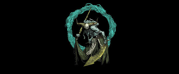 OGLAVAEIL THE EXECUTIONER T-shirt Design by Nicholas Wolf image