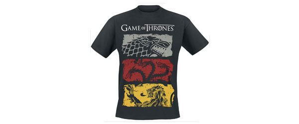 Sigils Game Of Thrones T-shirt t-shirt