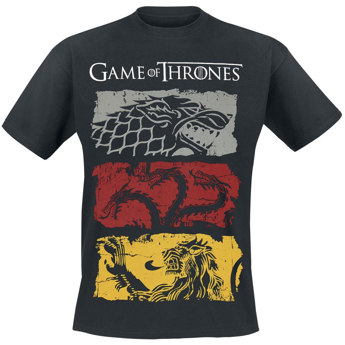 Sigils Game Of Thrones T-shirt tee