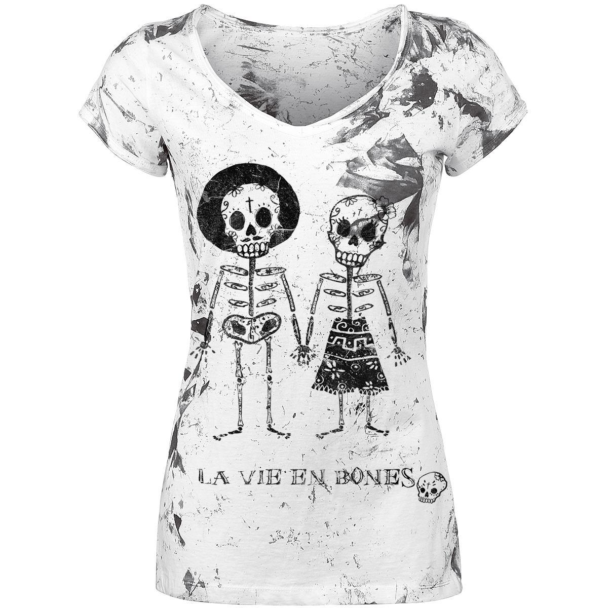 Skeleton Lovers T-shirt Design tee