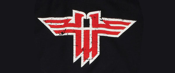 WOLFENSTEIN LOGO T-SHIRT main design