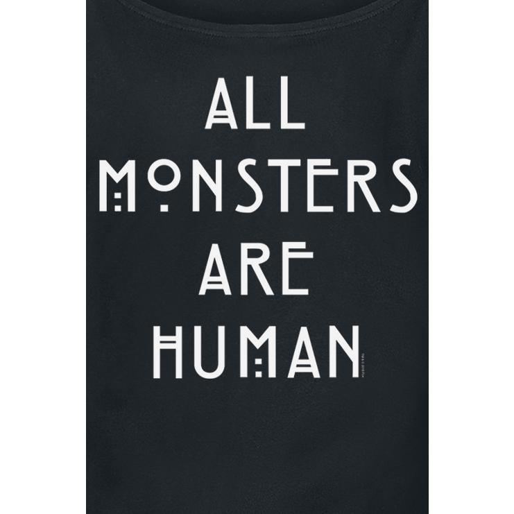 All Monsters Are Human T-shirt Design t-shirt