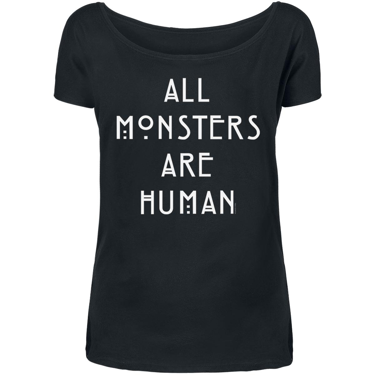 All Monsters Are Human T-shirt Design tee