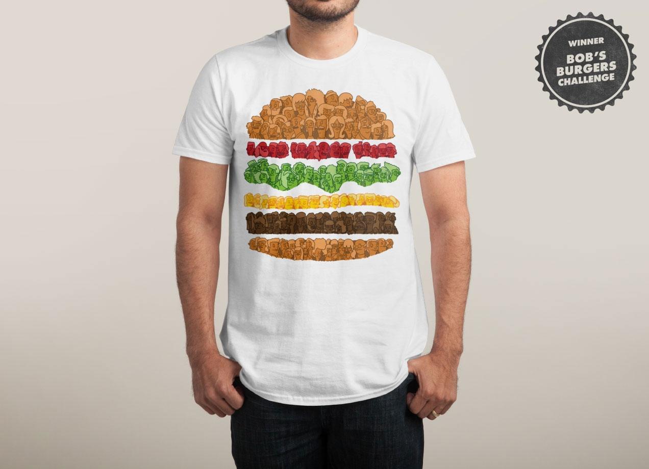 BOB'S BURGERS T-shirt Design by Simon Carpenter man