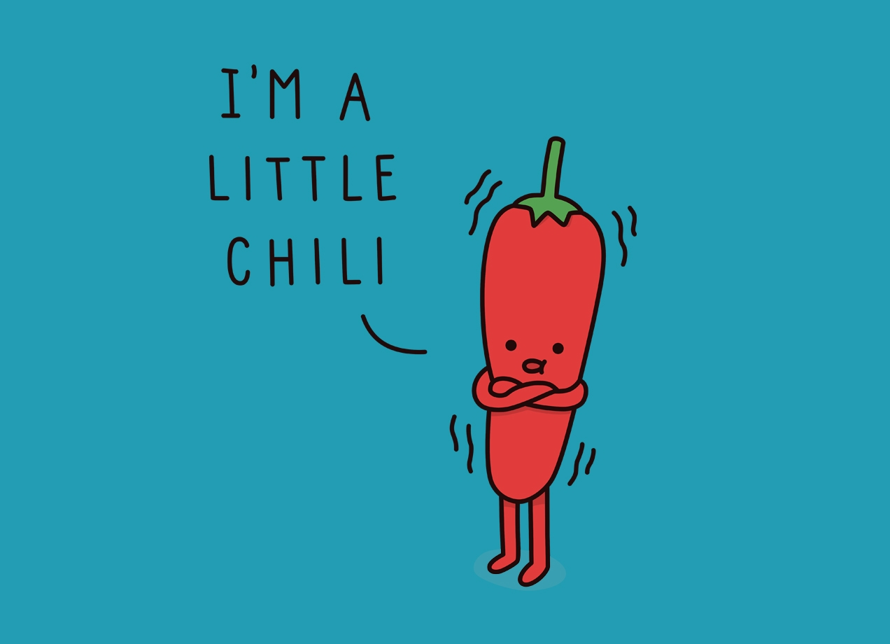 CHILI Design by Haasbroek T-shirt design