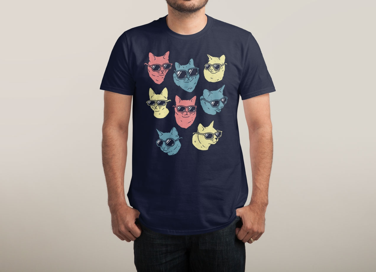 COOL CATS T-shirt Design by Ronan Lynam man