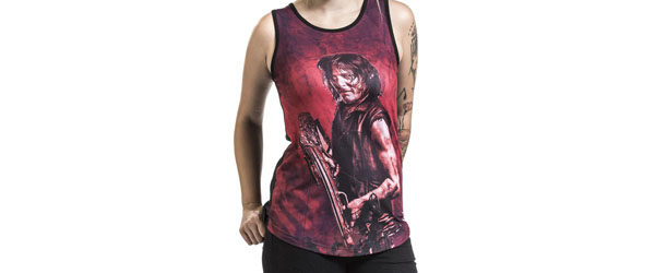 Daryl Dixon - Ready T-shirt Design woman main