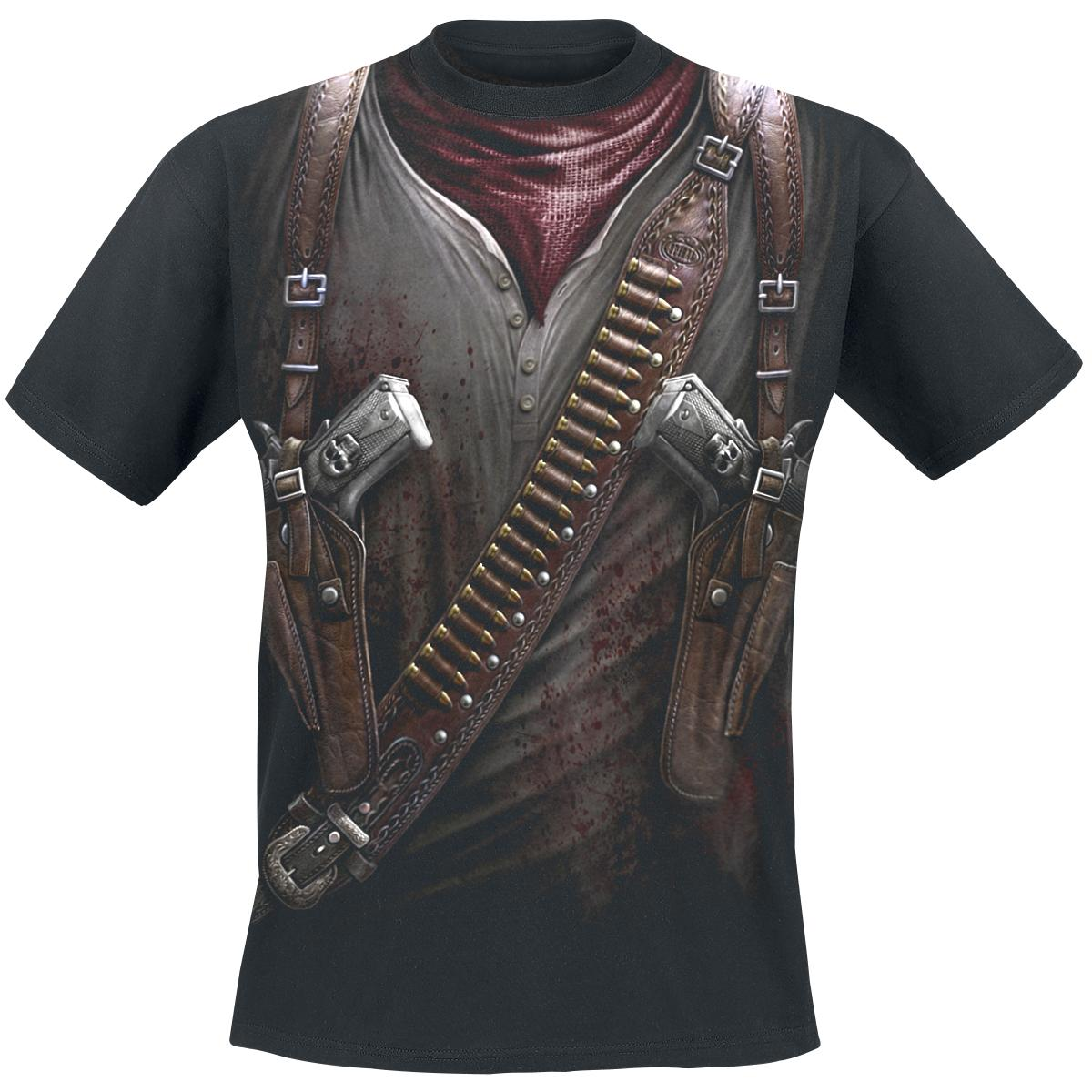 Holster Wrap T-shirt Design front