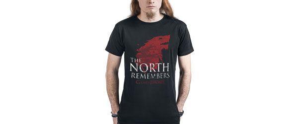 House Stark - The North Remembers T-shirt Design tee main