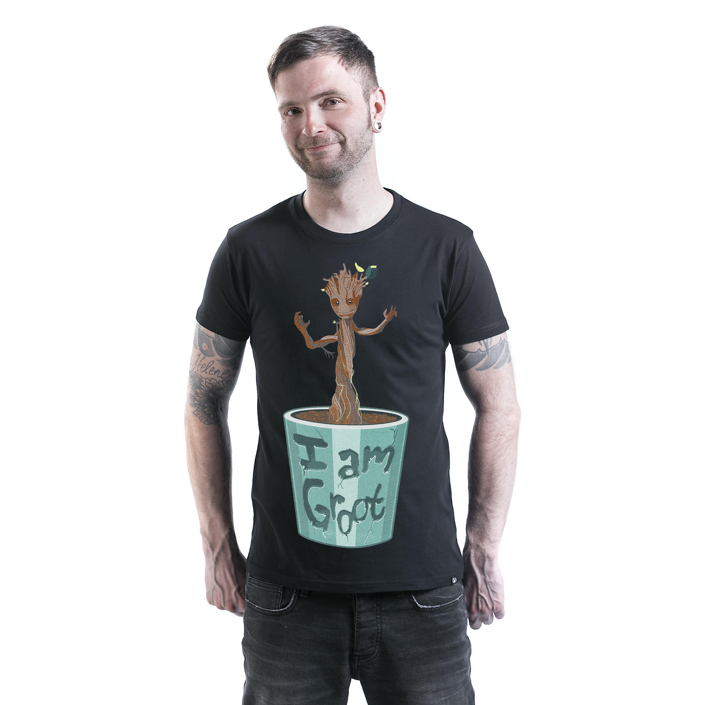 I Am Groot T-shirt Design man