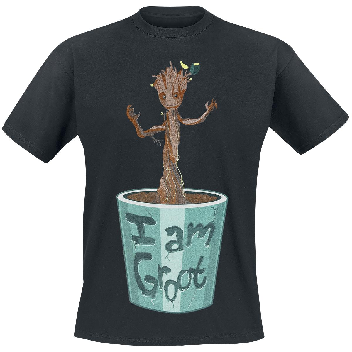 I Am Groot T Shirt I Am Groot T-shirt Des...