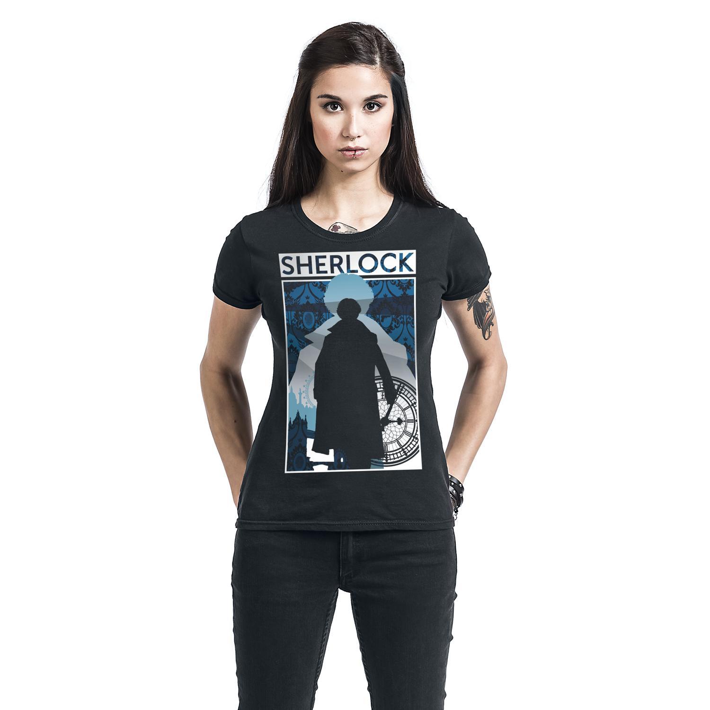 Silhouette City T-shirt Design woman