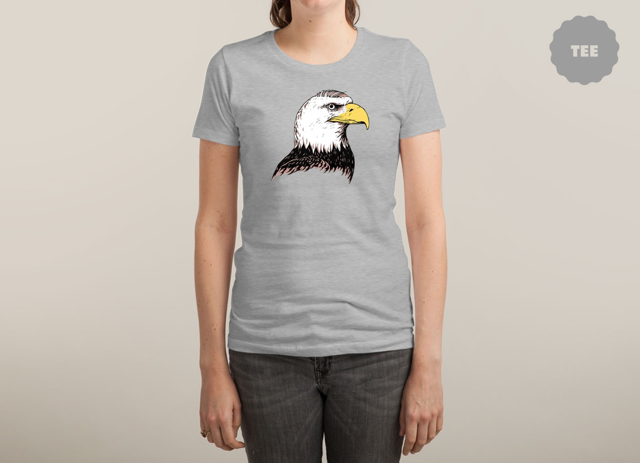 BALD EAGLE Design by Keith Carter woman