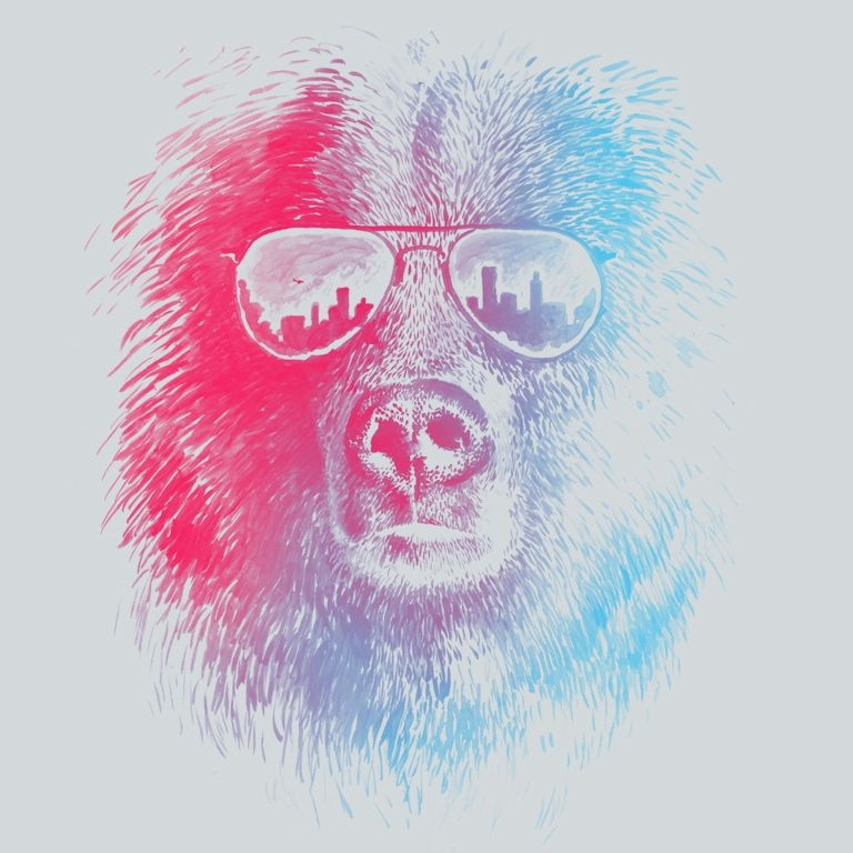 CALL OF THE WILD T-shirt Design by Brock Davis main