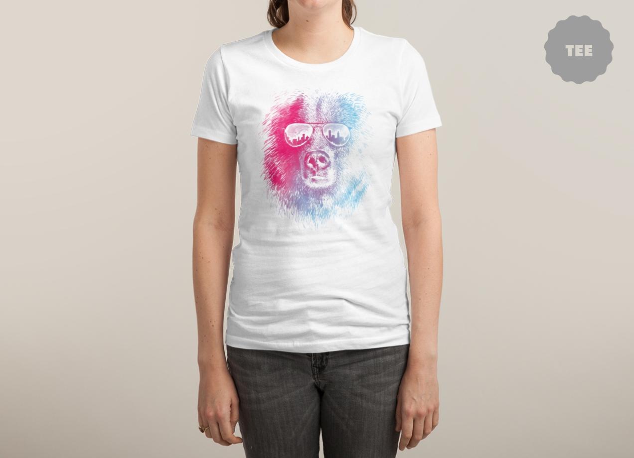 CALL OF THE WILD T-shirt Design by Brock Davis woman