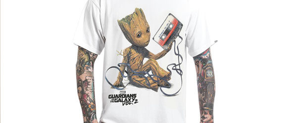 Groot & Tape T-shirt Design main