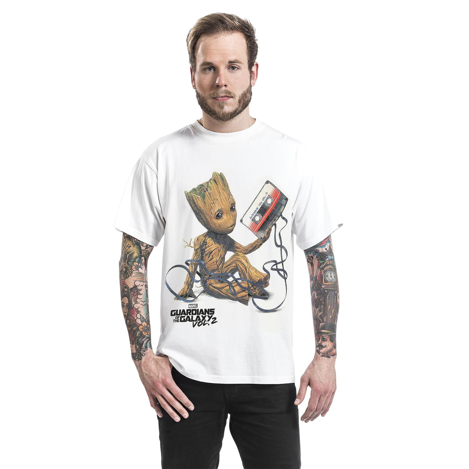 Groot & Tape T-shirt Design man