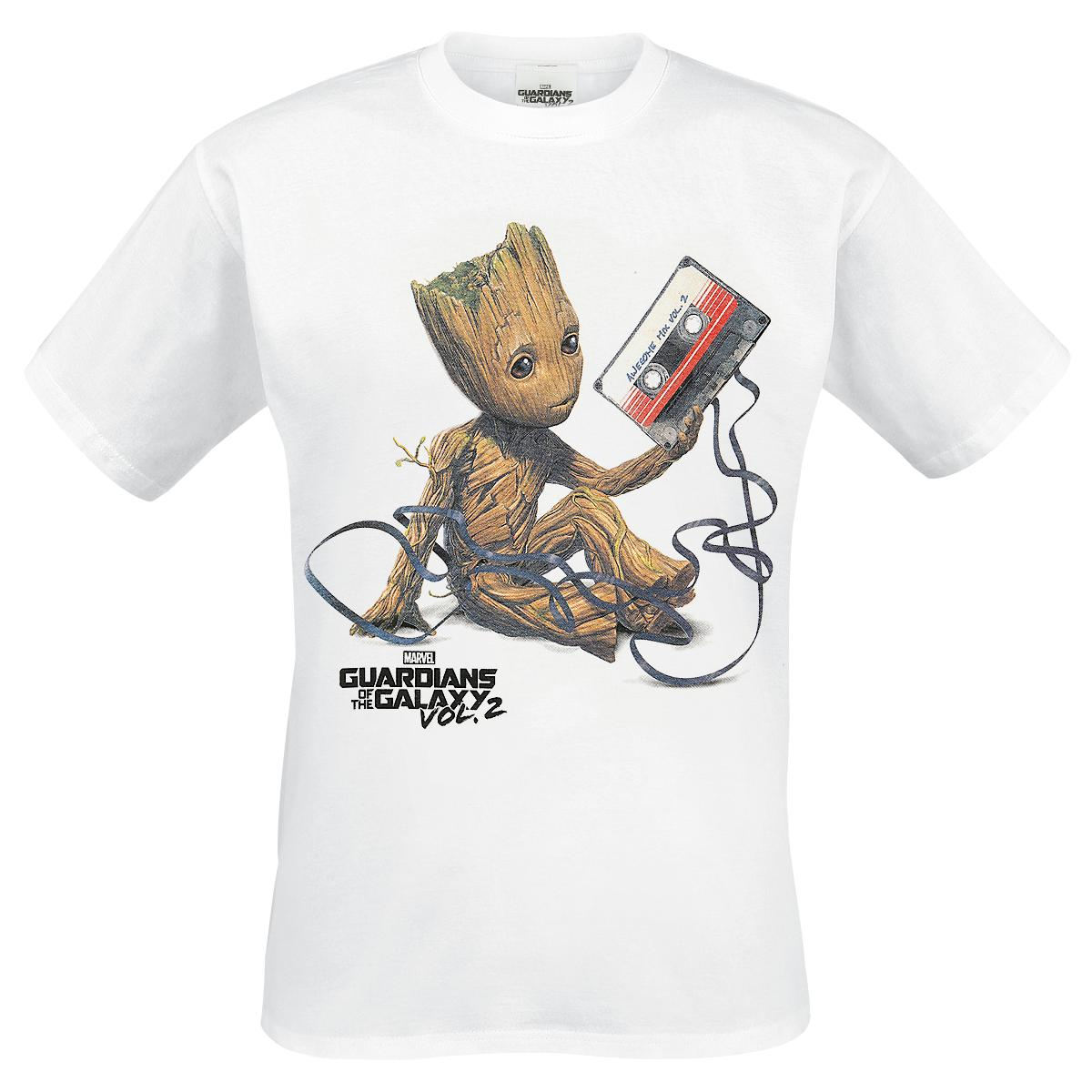 Groot & Tape T-shirt Design tee