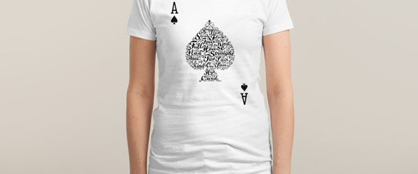 POKER HAND VALUES T-shirt Design by Tan Nuyen main