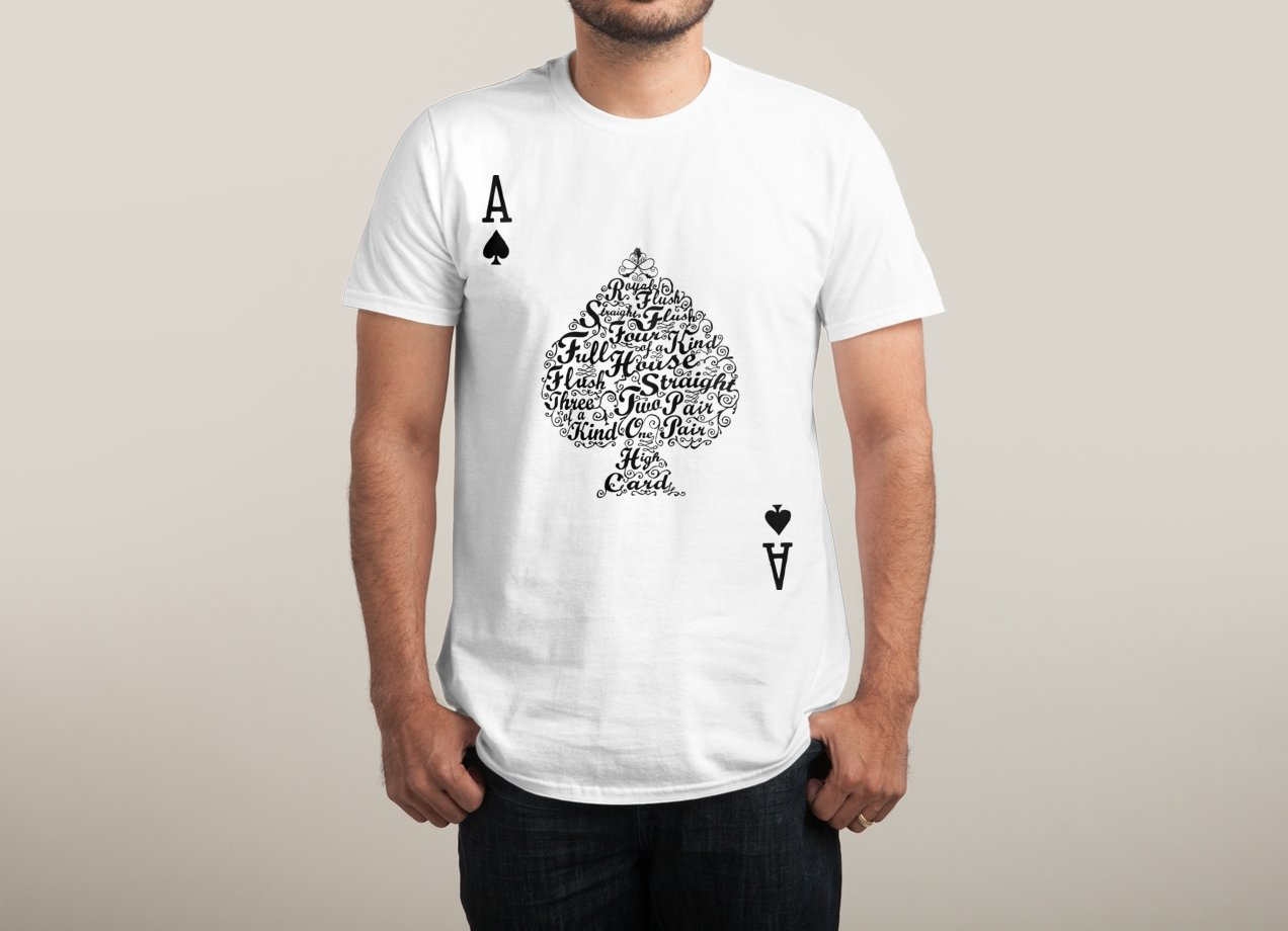 POKER HAND VALUES T-shirt Design by Tan Nuyen man
