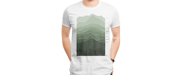 ABOVE SEA LEVEL T-shirt Design by Ross Zietz design main