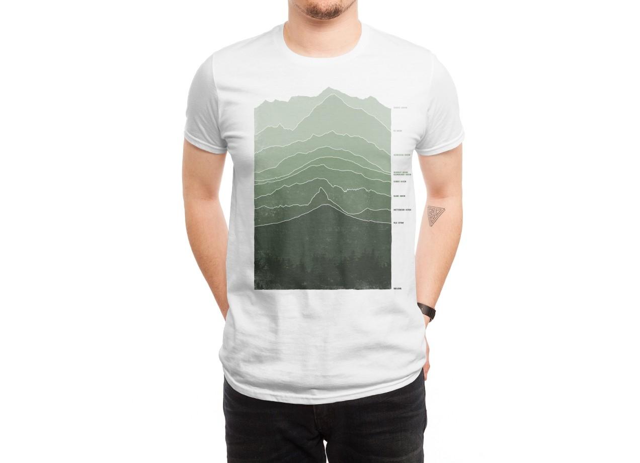ABOVE SEA LEVEL T-shirt Design by Ross Zietz