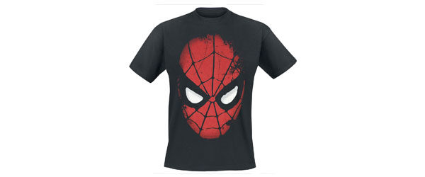 Big Face Spider Man T-shirt Design main