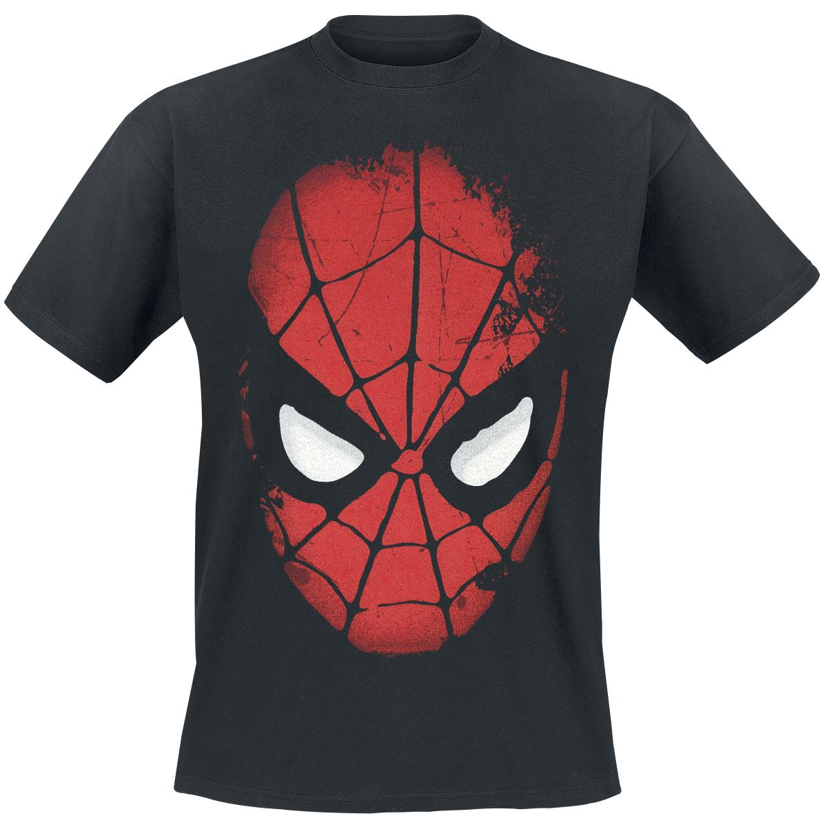 Big Face Spider Man T-shirt Design tee