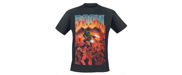 Classic Boxart T-shirt Design main tee