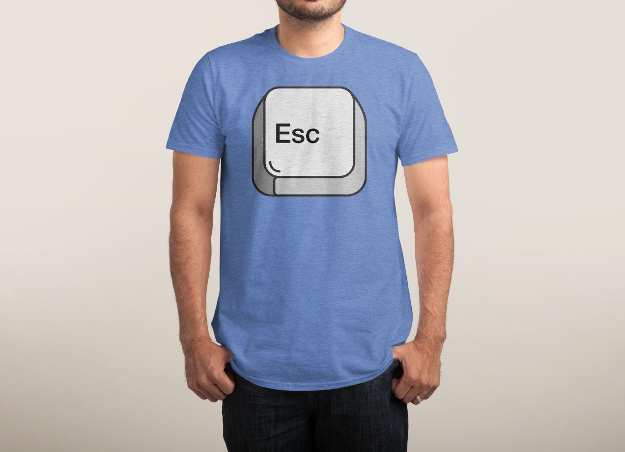 ESCAPE T-shirt Design by Bob man