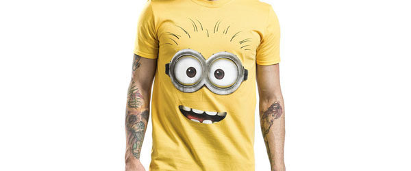 Goggle Face T-shirt Design tee main